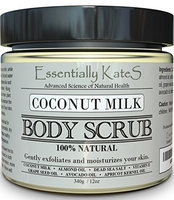 All Natural Coconut Milk Body Scrub by Essentially KateS