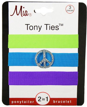 Mia Tony Hair Ties with Charms