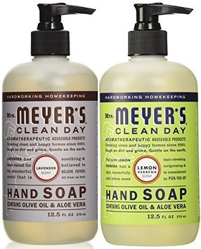 Mrs. Meyers Liquid Hand Soap Lavender & Lemon Verbena