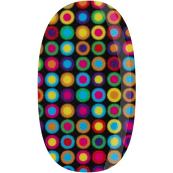 Skinz Nail Decals 24 Count Colorful Dots