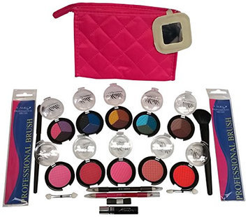 18 Pcs. All In One Make-up Pouch Set