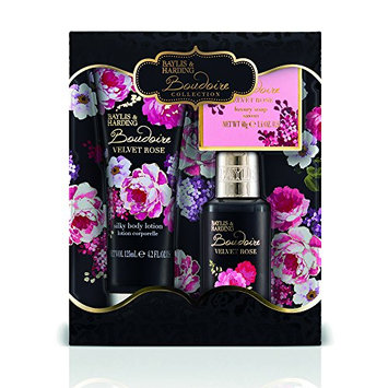 Baylis and Harding Boudoire Velvet Rose Trio of Treats Set