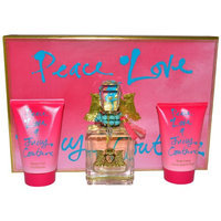 Peace Love & Juicy Couture by Juicy Couture for Women - 3 Pc Gift Set 3.4oz EDP Spray
