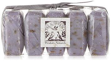 Pre De Provence Shea Butter Enriched Guest Soap Gift Set in Cello Wrap - Includes Five 25 Gram Soaps - Lavender
