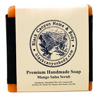 Black Canyon Home and Body Hand Crafted Bar Soap (Mango Salsa Scrub)