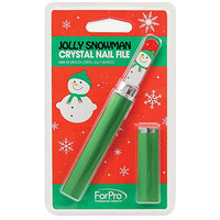 For Pro Jolly Snowman Crystal File with Case
