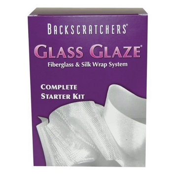 Backscratchers Extreme Glass Glaze Fiberglass and Silk Wrap System Complete Starter Kit