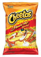 CHEETOS® Crunchy Flamin' Hot® Cheese Flavored Snacks
