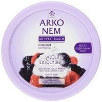 Arko Nem Yogurt & Blackberry Cream For Face Hand & Body