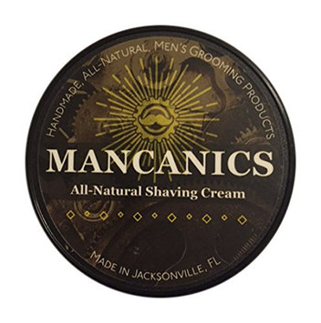 Mancanics All Natural Shaving Cream