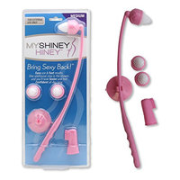 My Shiney Hiney Softer Medium Bristle Personal Cleansing Kit - Coral