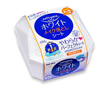 KOSE Softy Mo Super Makeup Cleansing Sheet White