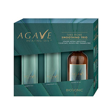 Agave HEATING OIL Smoothing Travel Trio