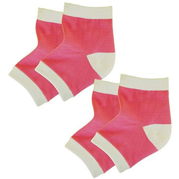Bodiance Gel Heel Socks for Moisturizing Repair & Healing of Cracked