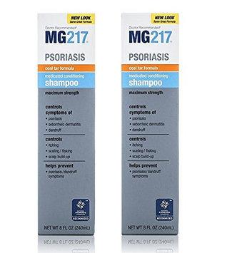 MG Psoriasis Medicated Conditioning Coal Tar Formula Shampoo