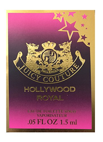 Juicy Couture Hollywood Royal Vial on Card .05oz Spray