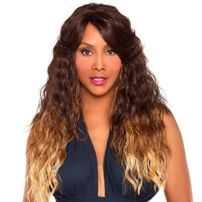 Vivica A Fox WP-Lizzy-V Full Cap Wig with Adjustable Strap