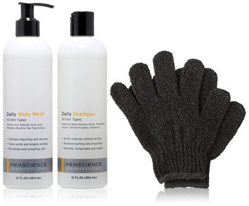 MenScience Androceuticals Daily Body and Hair Kit