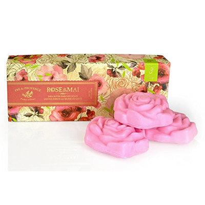 Pre De Provence Rose de Mai Soap Gift Box
