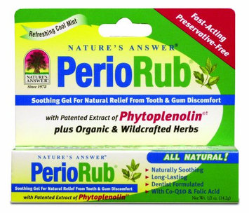 Nature's Answer Perio Rub Topical Soothing Gel
