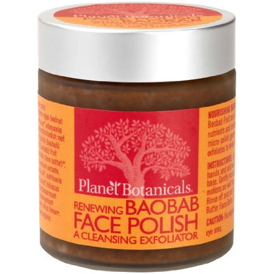 Planet Botanicals Baobab Micro Face Polish with Baobab and Cape Rose