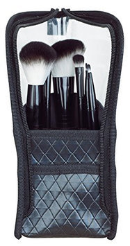 Danielle Set of 6 Professional Makeup Brushes in Cosmetic Case