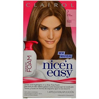 Clairol Nice 'N Easy Color Blend Foam - 7 Dark Blonde