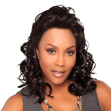JOANNA-V (Vivica A. Fox) - Synthetic Lace Front Wig in DARKEST BROWN