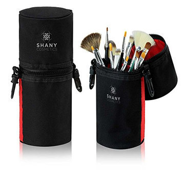 SHANY Cosmetics Urban Gal Collection Brush Kit (15 Piece Travel Brushes with Carry On Case)