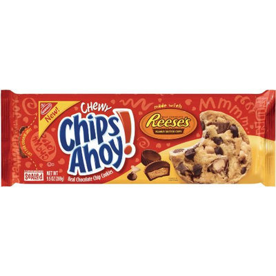 Nabisco Chips Ahoy! Chewy Chocolate Chip Cookies Made With Reese's Peanut Butter Cups