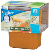 Gerber® Smart Nourish 2nd Foods Vegetable Risotto with Cheese