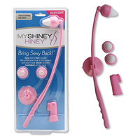 My Shiney Hiney Silky Soft Bristle Personal Cleansing Kit - Coral