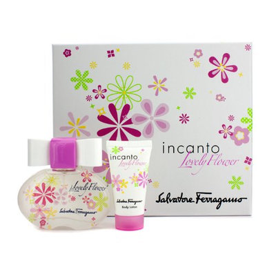 Salvatore Ferragamo Incanto Lovely Flower 2 Piece Gift Set for Women