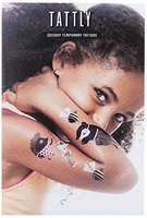 Tattly Temporary Tattoos Zoo Crew Set