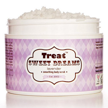 Treat Beauty Body Scrub with Whipped Coconut Oil