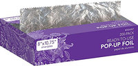 Diane 200 Piece Pre-Cut Hair Coloring Foil