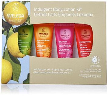 Weleda Indulgent Body Lotion Kit with 4 Travel Size Products