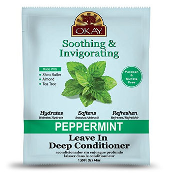Okay Peppermint Soothing and Invigorating Leave In Conditioner