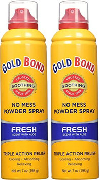 Gold Bond No Mess Spray Powder Fresh