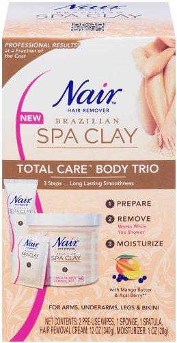 Nair Brazilian Spa Clay Total Care Body Trio