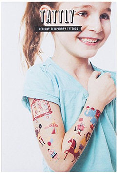 Tattly Temporary Tattoos Circus Set