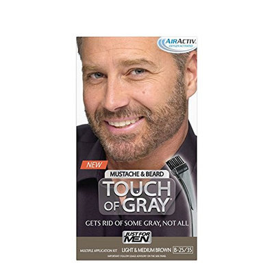 Touch of Gray Mustache and Bear Color