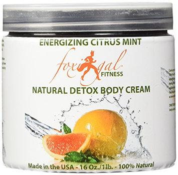 Foxi Gal Fitness Engergizing Citrus Mint Natural Detox Body Cream