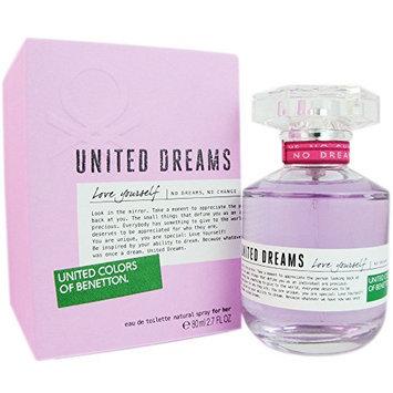 Benetton United Dreams Love Yourself Eau de Toilette Spray for Women