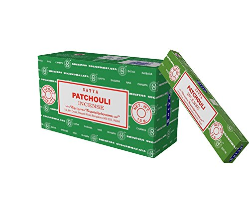 Satya Nag Champa Patchouli incense sticks-12packs x 15grams