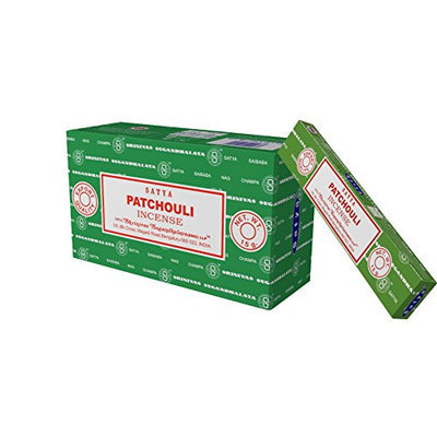 Satya Nag Champa Patchouli incense sticks-12packs x 15grams