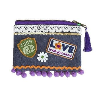 Natural Life Patch Pouch Bag
