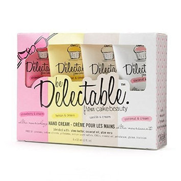 Delectable by Cake Beauty - Assorted Hand Cream Gift Set