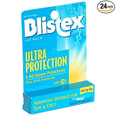 Blistex Ultra Protection Lip Balm, SPF 30 -  Sun & Cold