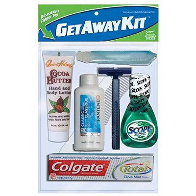 Convenience Kits Unisex Zippered Travel Bag